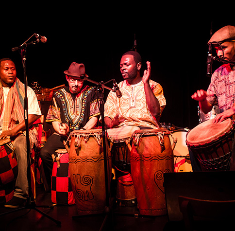 Verdensmusik & Percussion/African drumming