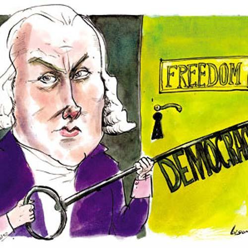 Demokratier, ideologier og sjove ismer
