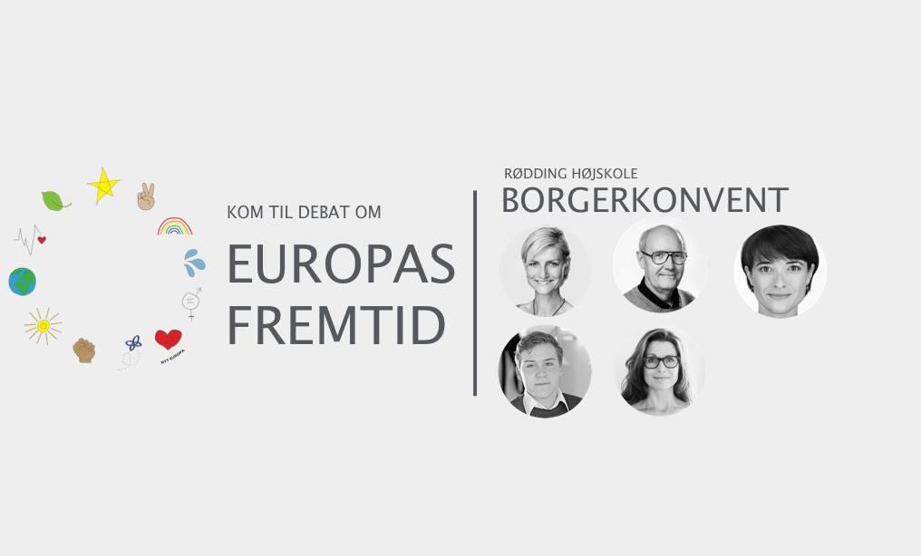 Rødding Højskole inviterer til debat med EP-kandidater om Europas fremtid