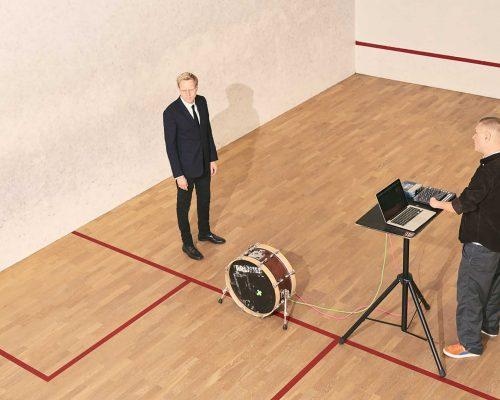 Billede for Akustisk og elektronisk koncert med Gustaf Ljunggren og Emil de Waal