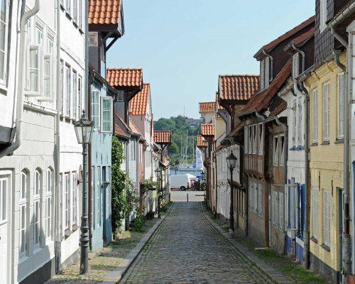 Billede for Grænselandstur med besøg hos det danske mindretal og Dannevirke. Om aftenen besøger vi den gamle marskgård Klægager