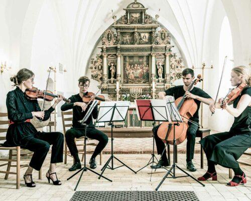 Billede for Koncert v/ strygekvartetten AKELA